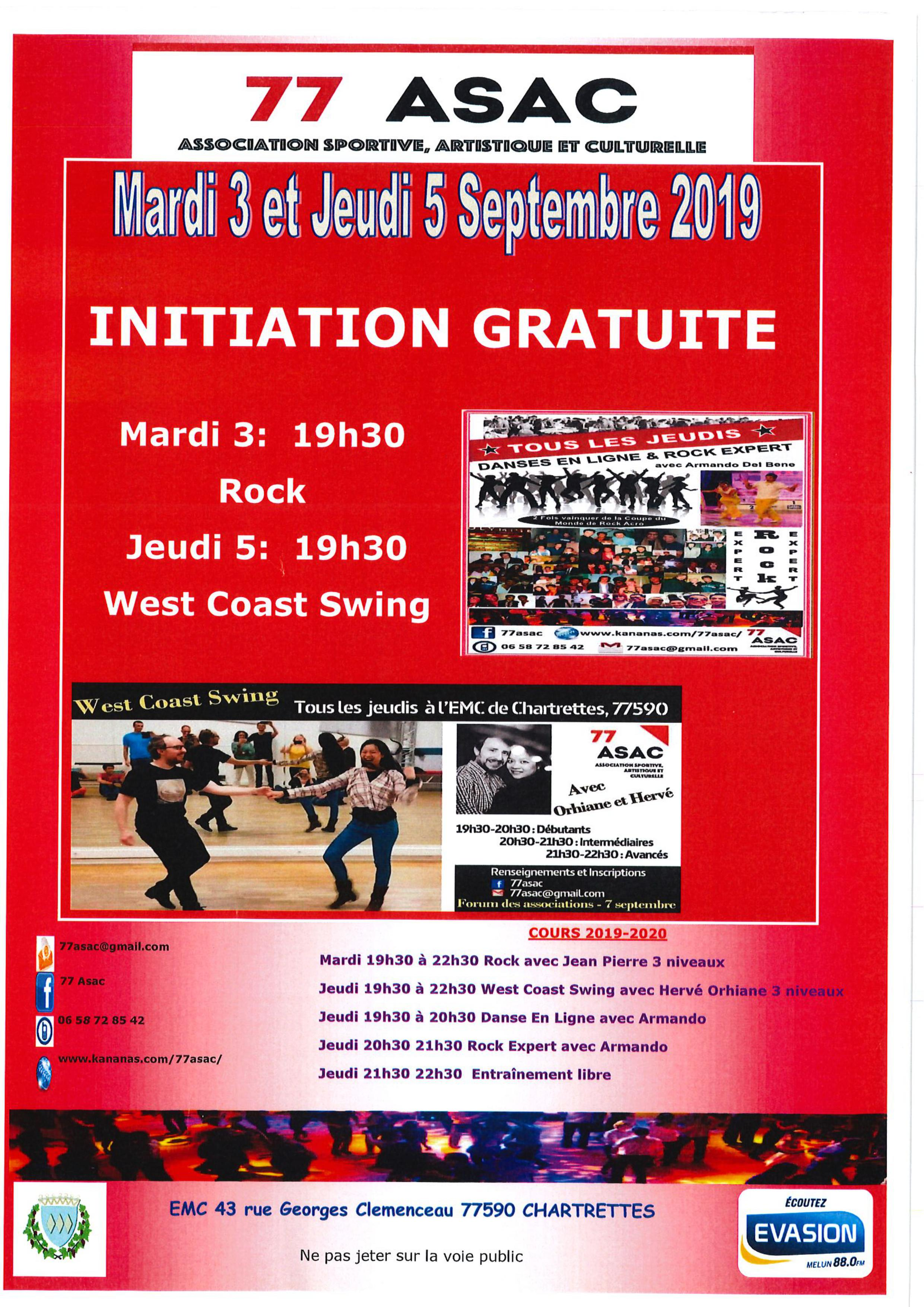 ASAC initition rock sept 2019