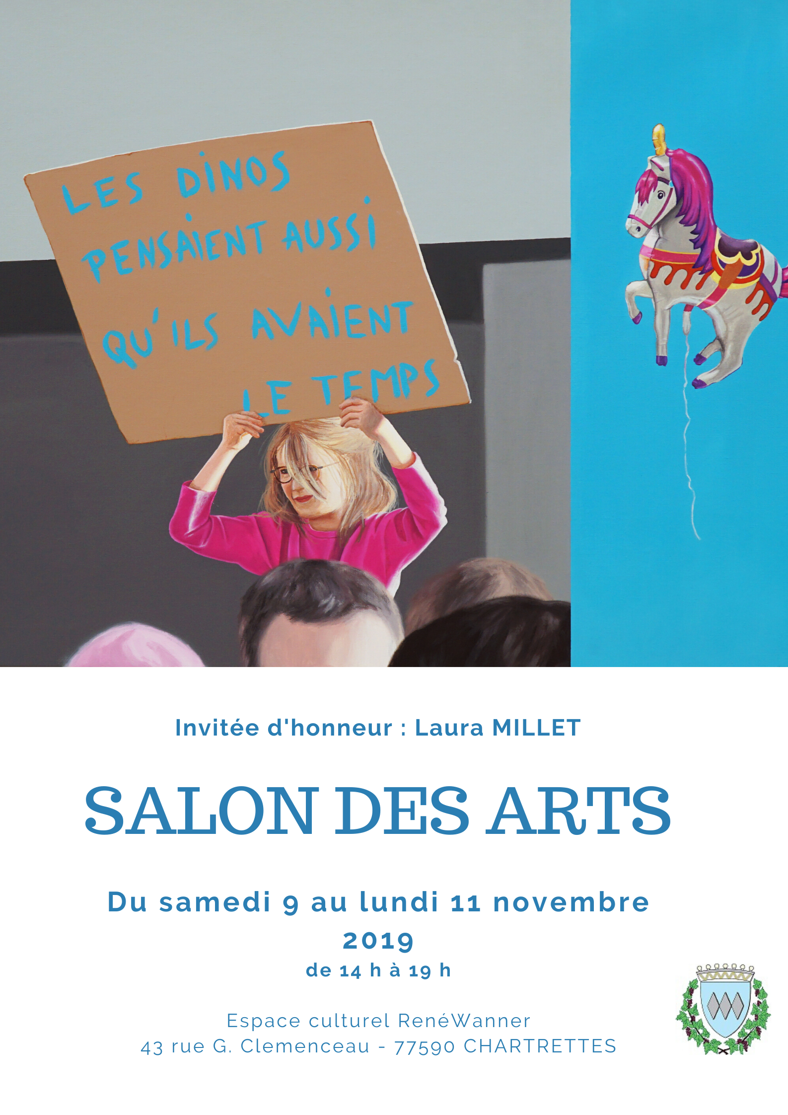 AFFICHE SALON DES ARTS 2019